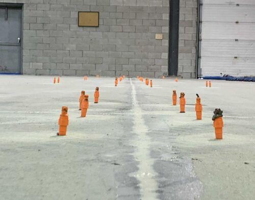 Concrete floor stabilization